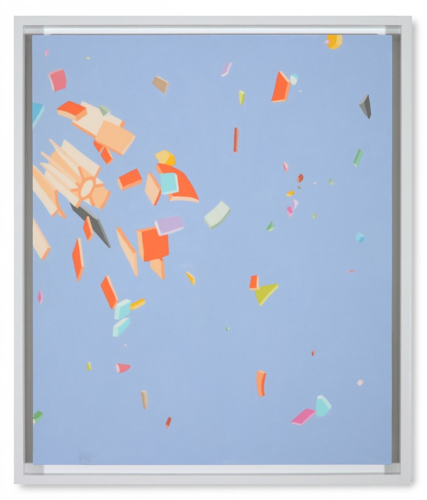 Blake Haygood, Just Blowback, 2013, 25.75 x 21.75 inches