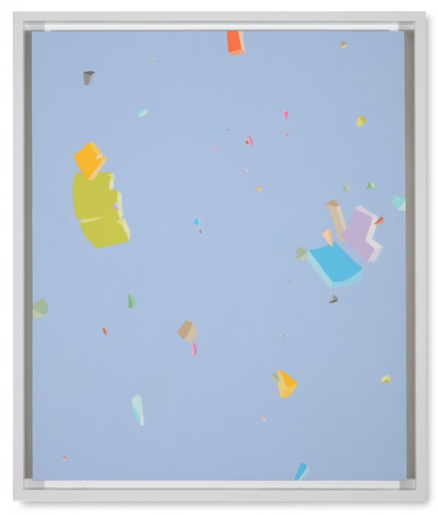 Blake Haygood, Promising Accuracy, 2013, acrylic on panel, 25.75 x 21.75 inches